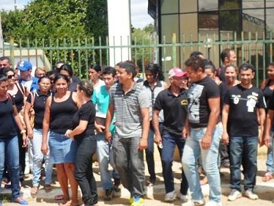Manifestação dos servidores públicos de São João do Piauí
