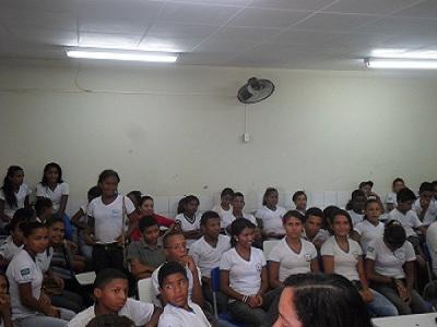 Palestra sobre cidadania com alunos da UESDA em São João do Piauí