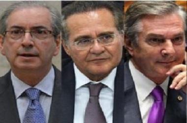 Lista com os nomes de políticos que serão investigados pelo STF