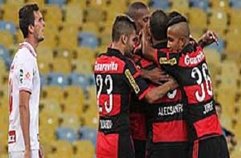 Flamengo bate Bangu no Maracanã, mas não alcança liderança