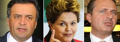 MDA: em Minas, Aécio tem 41% e Dilma, 32%