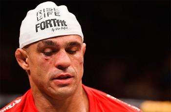 Após derrota, Vitor Belfort coloca a carreira em xeque sua carreira
