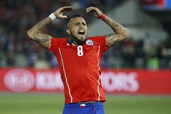 """Chile ganha e Vidal comemora dizendo: """"Somos os melhores da América do Sul"""""""