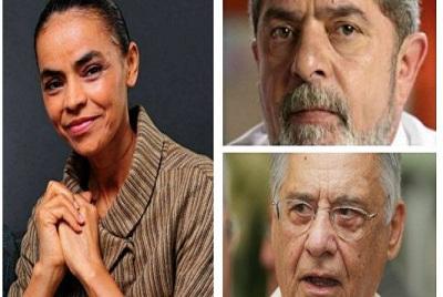 Guru de Marina: queremos Lula e FHC como aliados