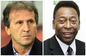 Zico e Pelé falam na terça à CPI do Futebol