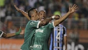 Palmeiras vence terceira seguida e assume o G-4, provisoriamente