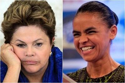 PESQUISA: Em  SP e no RJ  Marina lidera a corrida presidencial