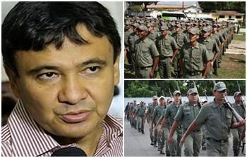 Wellington Dias joga duro contra paralisação da PM do Piauí