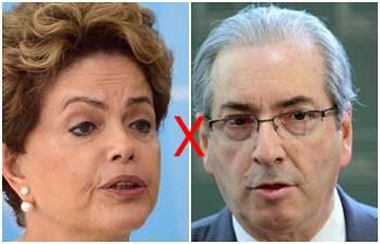 CUNHA aceita pedido de impeachment contra a presidente Dilma Rousseff