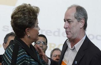 Ciro considera Temer 'o capitão do golpe' e critica Aécio Neves em BH