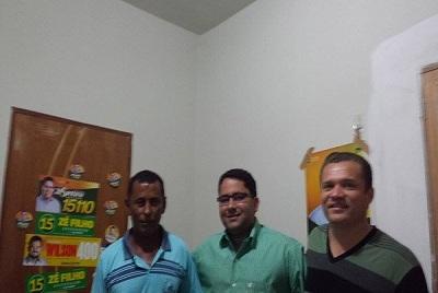 Manoel da Elza(PMDB)adere à candidatura de Zé Santana em São João do Piauí