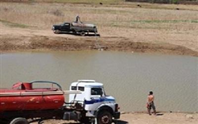 Fontes para carros-pipas também secaram no Piauí