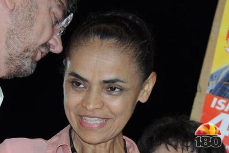 MARINA SILVA:'Dilma e Aécio tremem que nem vara verde'