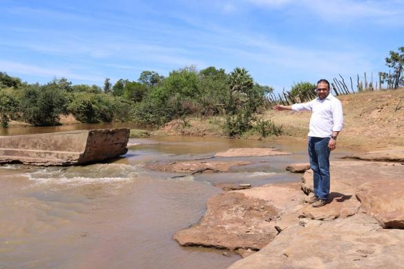 Construção de barragem deverá garantir água a povoado de Ribeira do Piauí