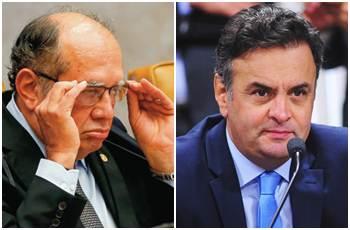 Gilmar Mendes será relator de segundo pedido de inquérito contra Aécio Neves