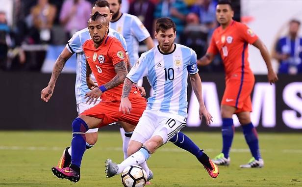 Messi erra e Chile volta a vencer nos pênaltis outra vez da Argentina