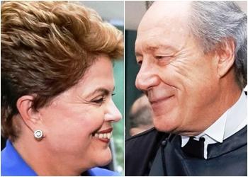 Lewandowski assume Presidência a pedido de Dilma