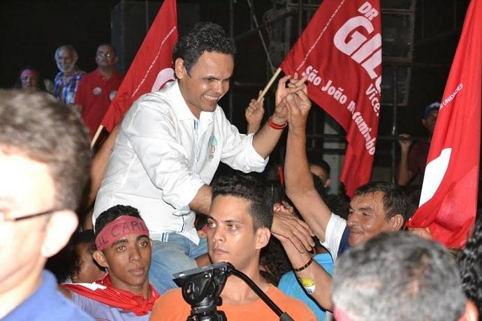 Gil Carlos(PT) é reeleito prefeito de São João do Piauí com 51,18% dos votos válidos