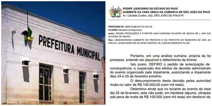 Carnaval de São João do Piauí vai parar na Justiça; entenda o caso