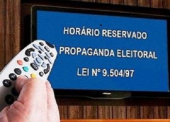 Propaganda eleitoral no rádio e na TV começa hoje