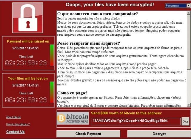 Entenda o que são os ransomware utilizados por hackers no ataque virtual, ontem(12)