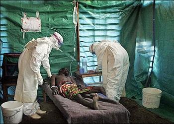 SAÚDE: 2ºexame para detectar o vírus ebola em africano dá negativo