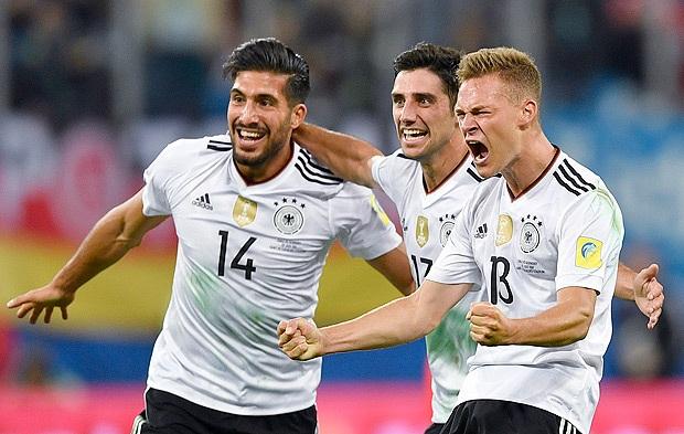 Seleção da Alemanha bate o Chile por 1 X 0 e conquista a Copa das Confederações