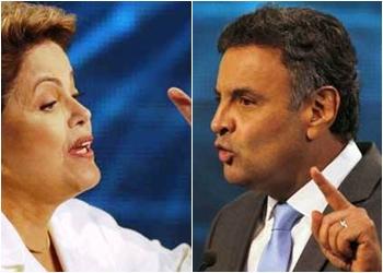 DILMA x AÉCIO se enfrentam em debate do 2º turno no SBT, nesta quinta-feira(16)