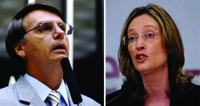 STJ condena Bolsonaro a pagar indenização de R$ 10 mil à Maria do Rosário