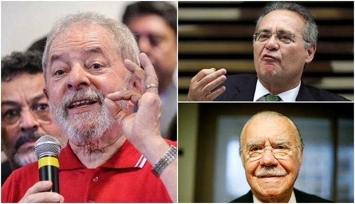 Em caravana pelo Nordeste, Lula diz ser grato a Sarney e a Renan