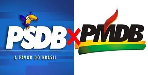 PMDB e PSDB se dividem em 18 estados; veja como deve ficar