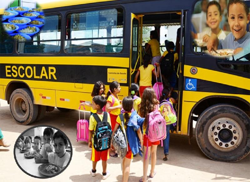 FNDE transfere R$ 479 milhões para alimentação e transporte escolar