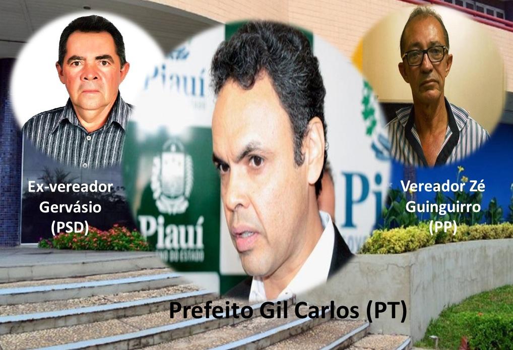 Prefeito Gil Carlos foi denunciado duas vezes pela oposição no TCE-PI e duas no MP; entenda