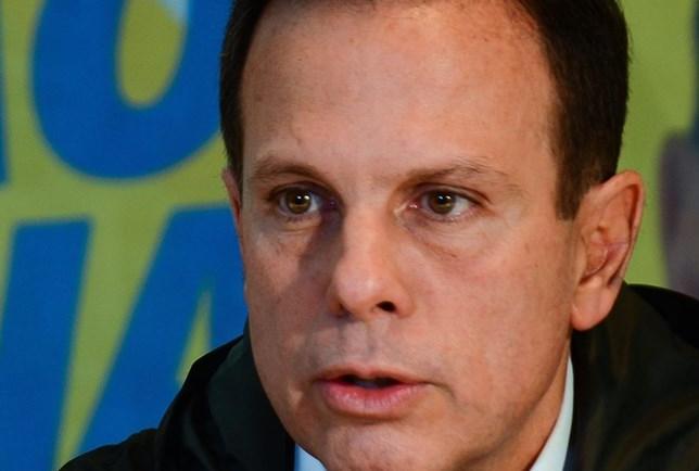 Datafolha:55% não votariam em Doria para presidente
