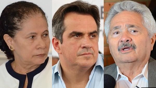 Ciro e Elmano votam a favor da manutenção do mandato de Aécio Neves