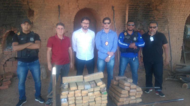 Polícia Civil de São Raimundo Nonato-PI incinera 60 kg de drogas apreendidas