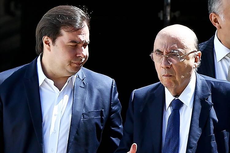 Maia diz que ministro Henrique Meirelles seria 'um bom presidente'