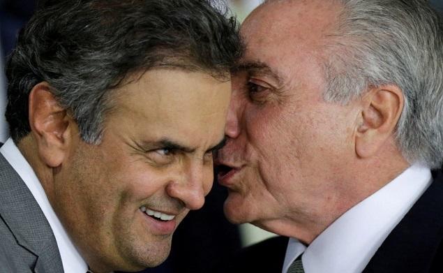 Planilhas apreendidas pela Polícia Federal revelam cota de Aécio Neves no governo