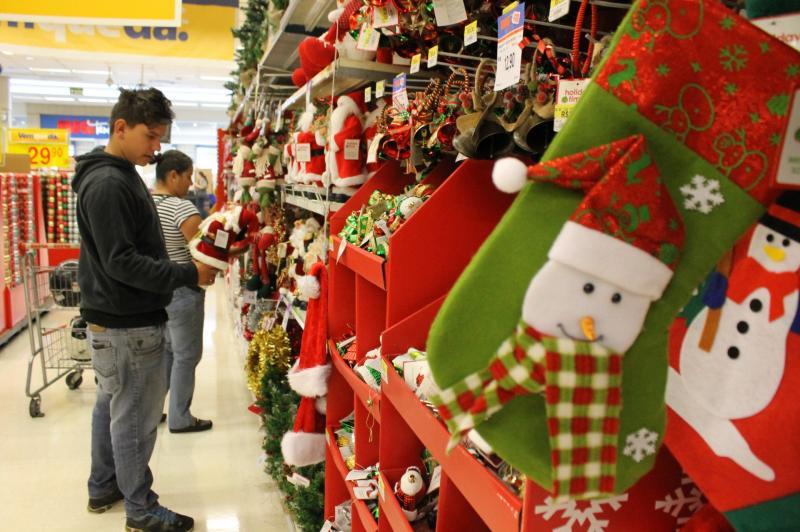 Comércio se anima para aumentar vendas na semana que antecede ao Natal