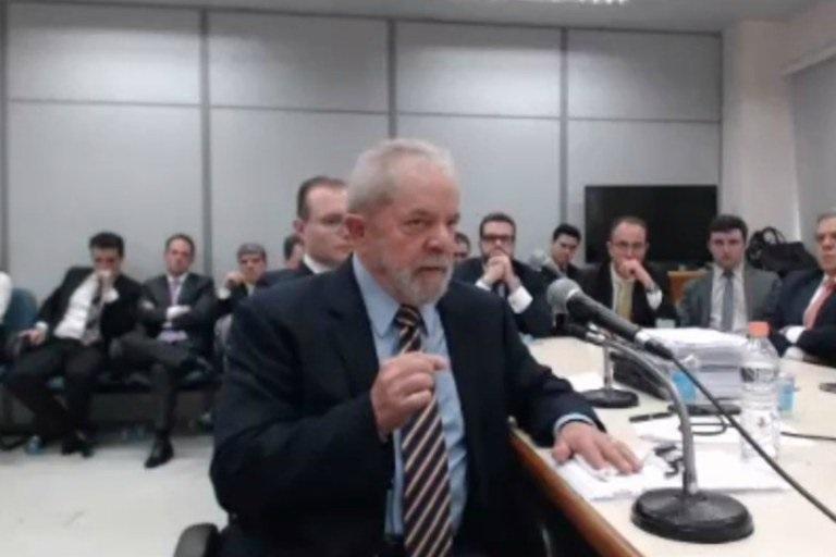 'Em 2013 é que eu fui ver o tal tríplex', disse Lula a Moro