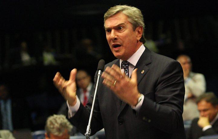 Fernando Collor anuncia candidatura à Presidência da República