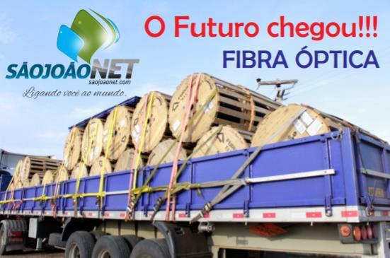 Provedor de internet investe em fibra ótica
