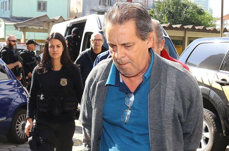 Luiz Eduardo, irmão de Zé Dirceu, é preso após ter recursos rejeitados pelo TRF-4