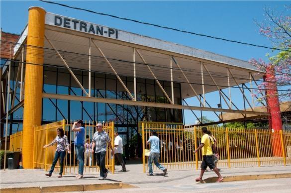 Funcionários do Detran-PI vão paralisar atividades esta semana