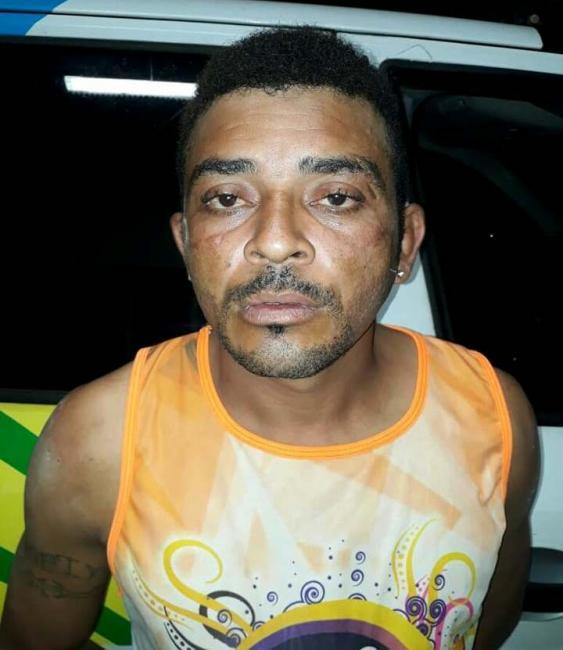 Policia Militar prende acusado de tentar incendiar casas no bairro Barro Vermelho