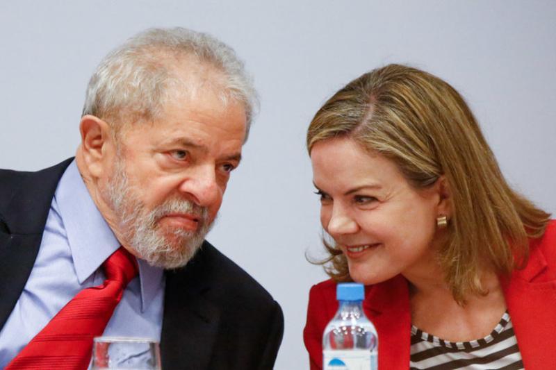 PRG aumenta o desgaste do PT com denúncia contra Gleisi e Lula