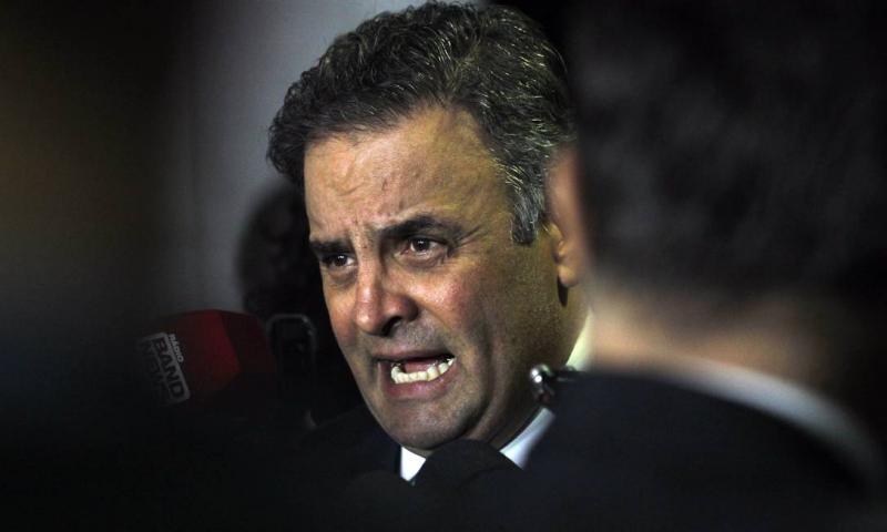 Ministro determina ampliação da quebra de sigilo fiscal de Aécio Neves