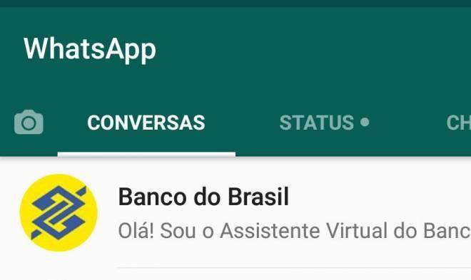 Banco do Brasil vai informar saldo de conta e fatura do cartão pelo WhatsApp
