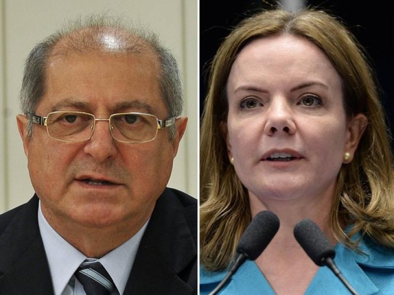 STF absolve Gleisi e Paulo Bernardo de corrupção e lavagem