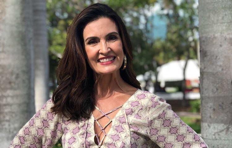 """Natural"", diz Fátima sobre novo casamento de Bonner"